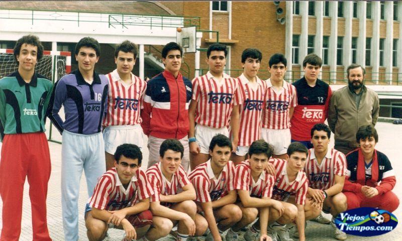 Club Dosa Balonmano Salesianos Cantabria. 1986 - 1987
