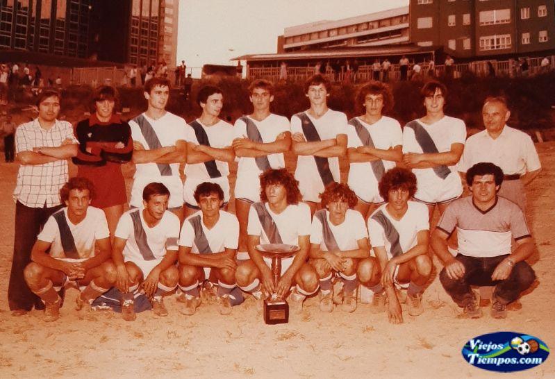 Sociedad Cultural Deportiva Recreativa Galicia de Caranza. 1981 - 1982