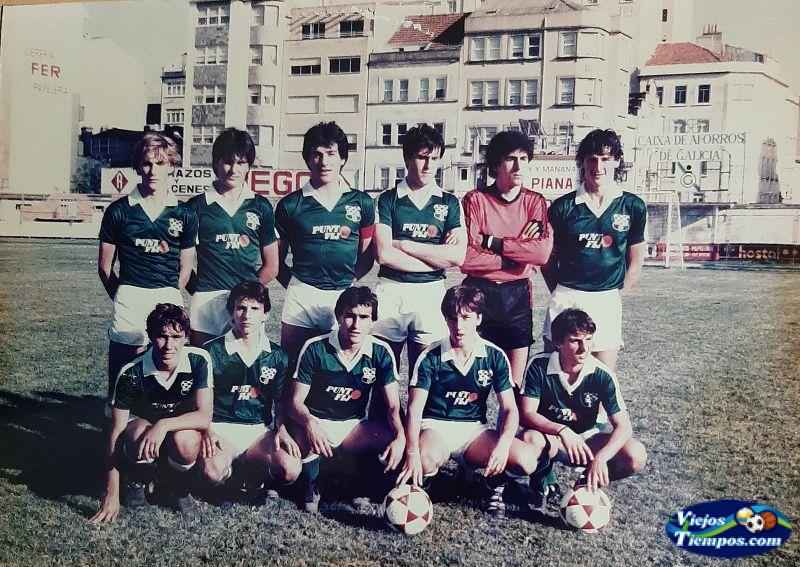 Racing Club de Ferrol juveniles. 1983 - 1984