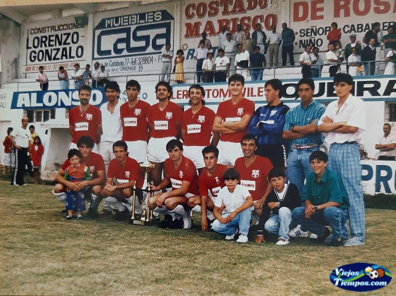 Racing Club de Ferrol. 1987 - 1988