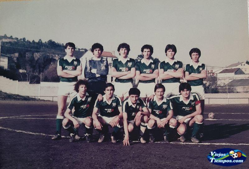Racing Club de Ferrol juveniles. 1982 - 1983