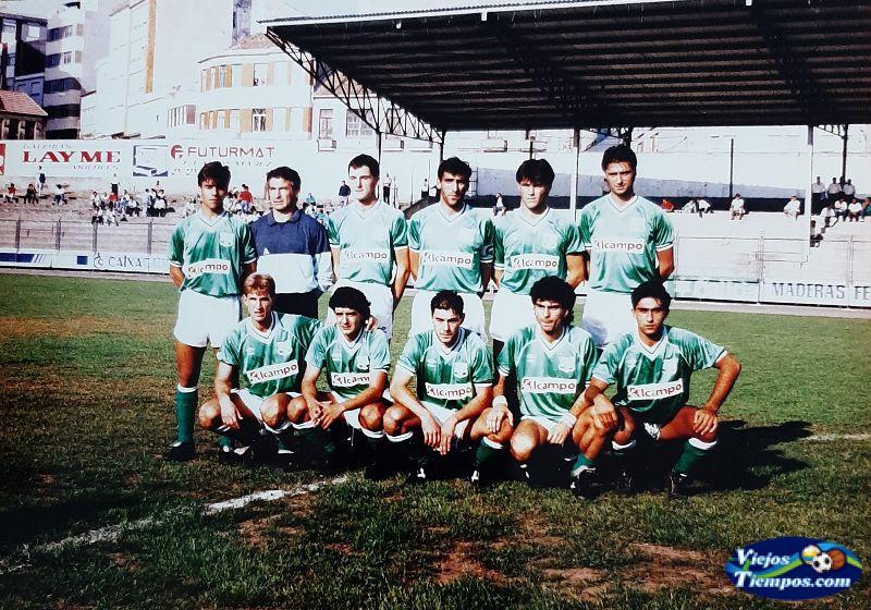 Racing Club de Ferrol. 1989 - 1990