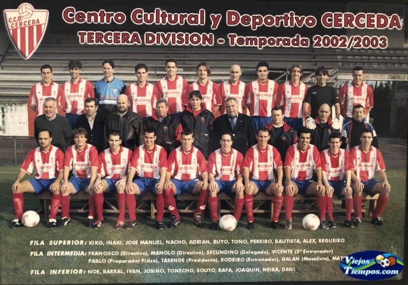Centro Cultural  Deportivo Cerceda. 2002 - 2003