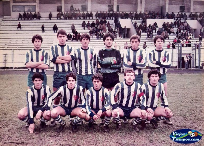 Eume Deportivo. 1984 - 1985