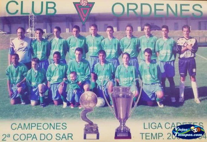 Sociedad Deportiva Club Órdenes. 2003 - 2004