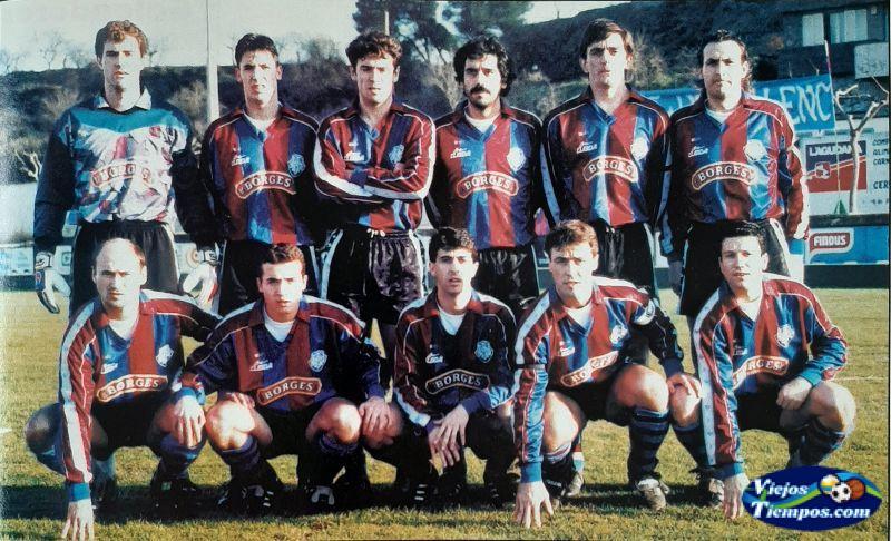 Unió Esportiva Tárrega. 1995 - 1996