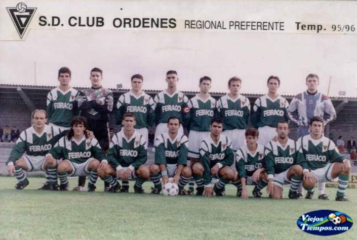 Sociedad Deportiva Club Órdenes. 1995 - 1996