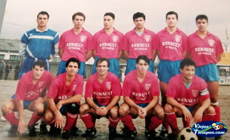 Brigantium Club de Fútbol. 1989 - 1990