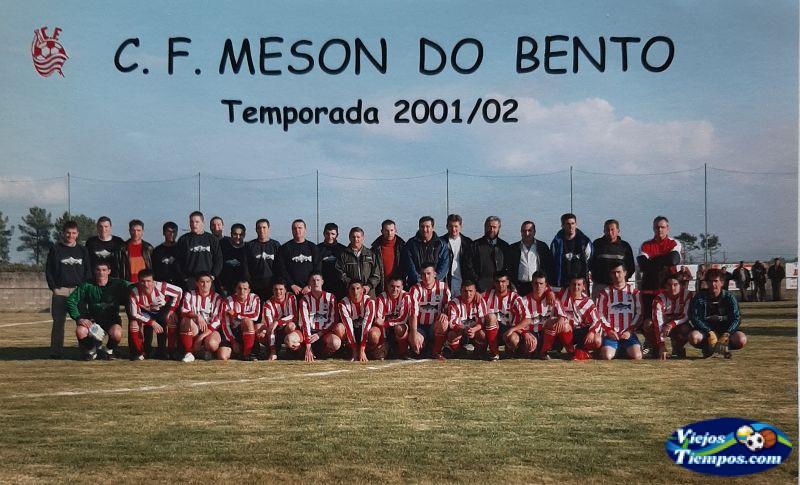 Mesón do Bento Club de Fútbol. 2001 - 2002