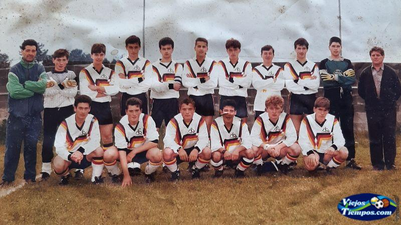 Mesón do Vento Club de Fútbol. 1995 - 1996