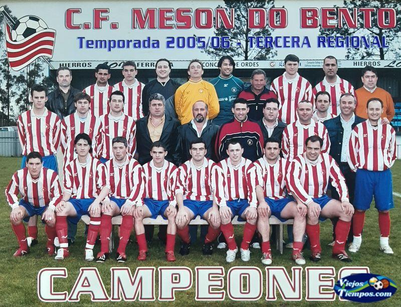 Mesón do Bento Club de Fútbol. 2005 - 2006