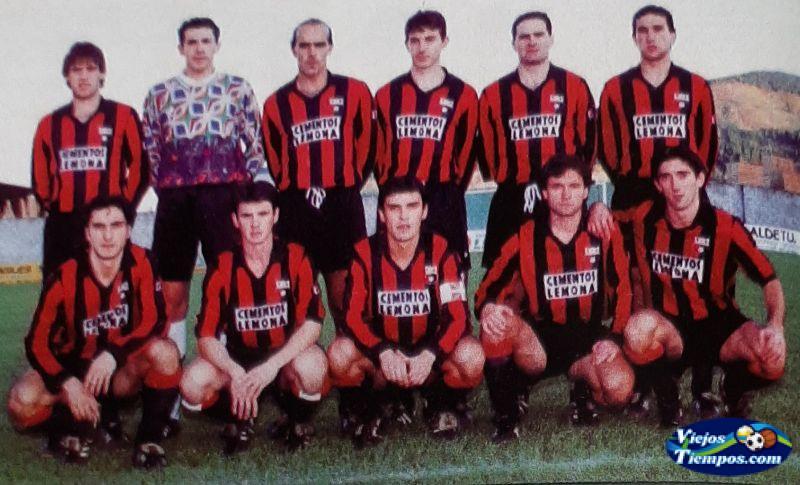 Sociedad Deportiva Lemona. 1995 - 1996