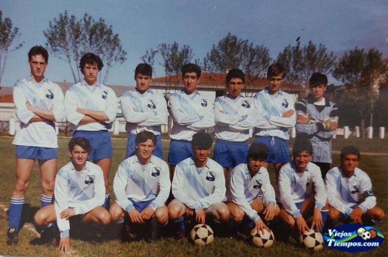 Sociedad Cultural Deportiva Recreativa Galicia de Caranza. 1990 - 1991