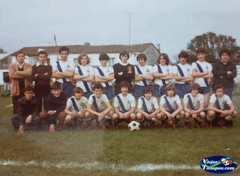 Sociedad Cultural Deportiva Recreativa Galicia de Caranza. 1979 - 1980