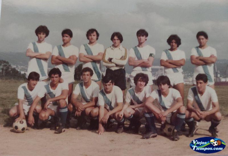 Sociedad Cultural Deportiva Recreativa Galicia de Caranza. 1982 - 1983
