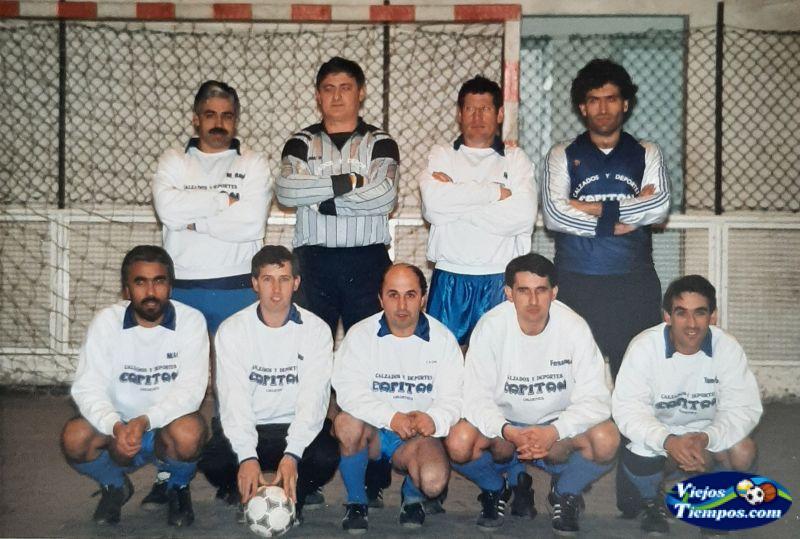Deportes Capitán Ordes. 1989 - 1990