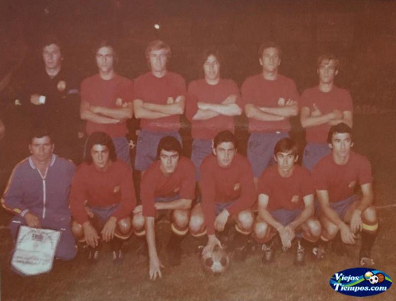 Seleccion Española Sub 23 1972 - 1973