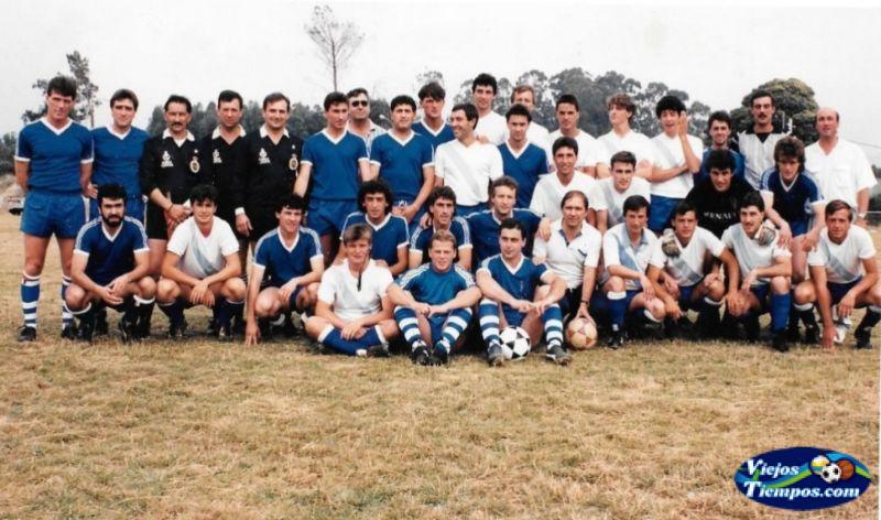 Sociedad Cultural Deportiva Recreativa Galicia de Caranza. 1989 - 1990