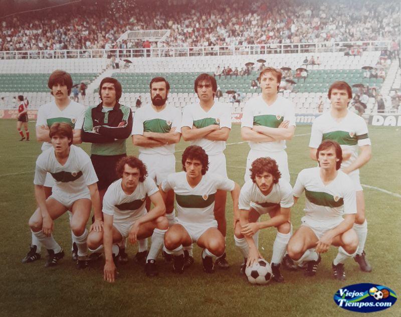 Elche Club de Fútbol. 1981 - 1982