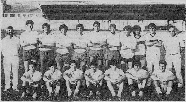 Ferrol Atletico 1985 - 1986