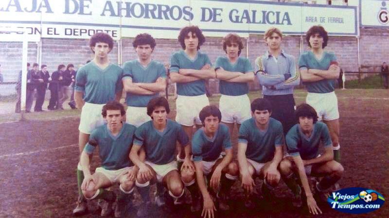 Racing Club de Ferrol juvenil. 1981 - 1982