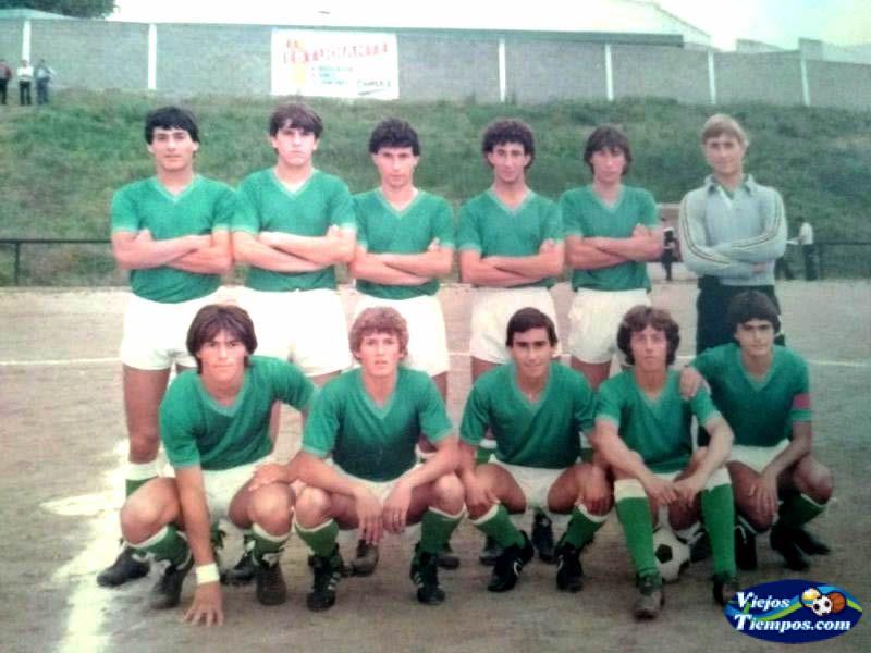 Racing Club de Ferrol juvenil. 1982 - 1983