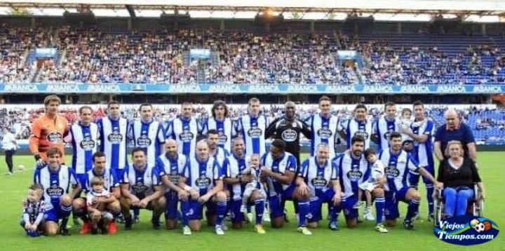 Veteranos RC. Deportivo de La Coruña. 2018 - 2019