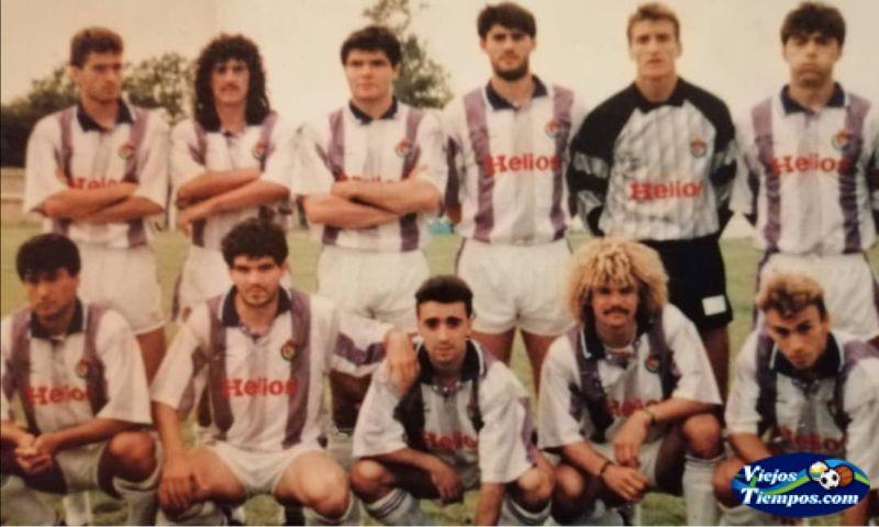 Real Valladolid Club de Fútbol. 1991 - 1992