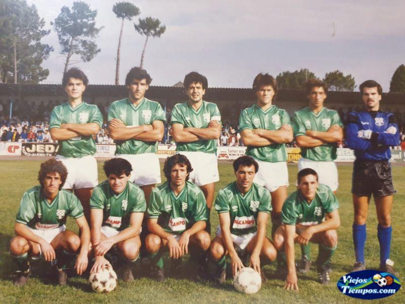 Racing Club de Ferrol. 1986 - 1987
