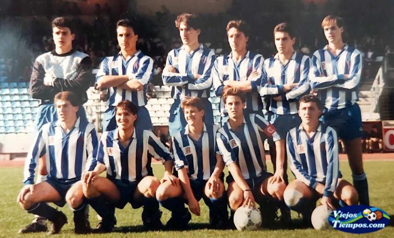 Real Club Deportivo de La Coruña. 1989 - 1990