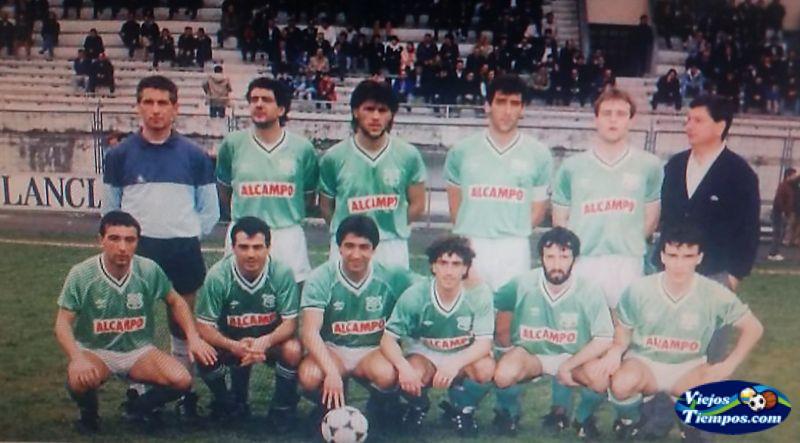 Racing Club de Ferrol. 1988 - 1989