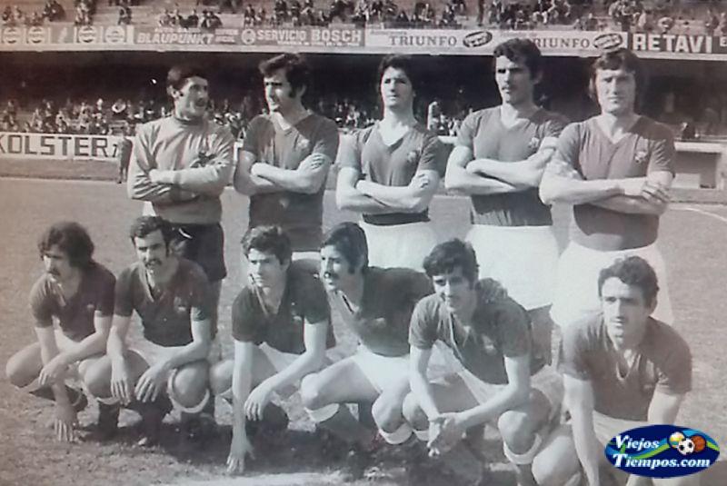 Racing Club de Fútbol. 1974 - 1975