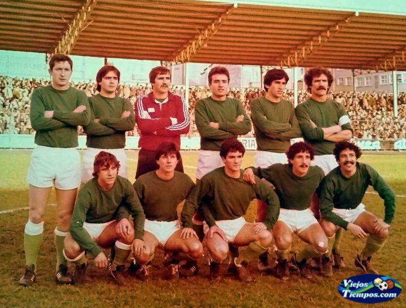 Racing Club de Ferrol. 1980 - 1981