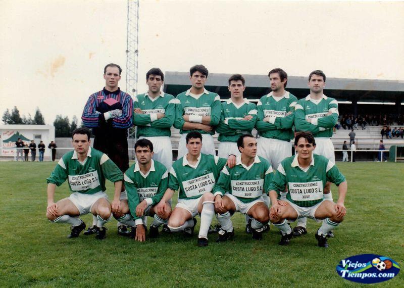 Union Deportiva Xove Lago. 1991 - 1992