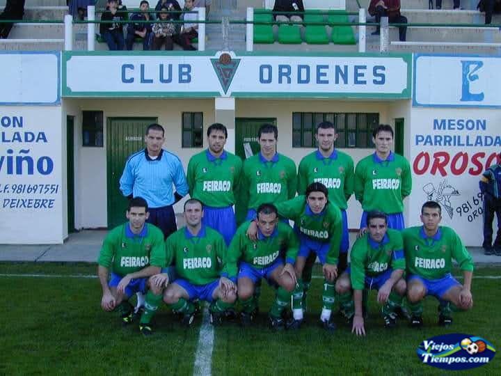 Sociedad Deportiva Club Órdenes. 2001 - 2002