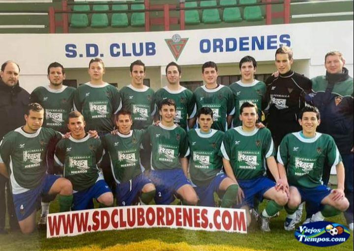 Sociedad Deportiva Club Órdenes. 2008 - 2009