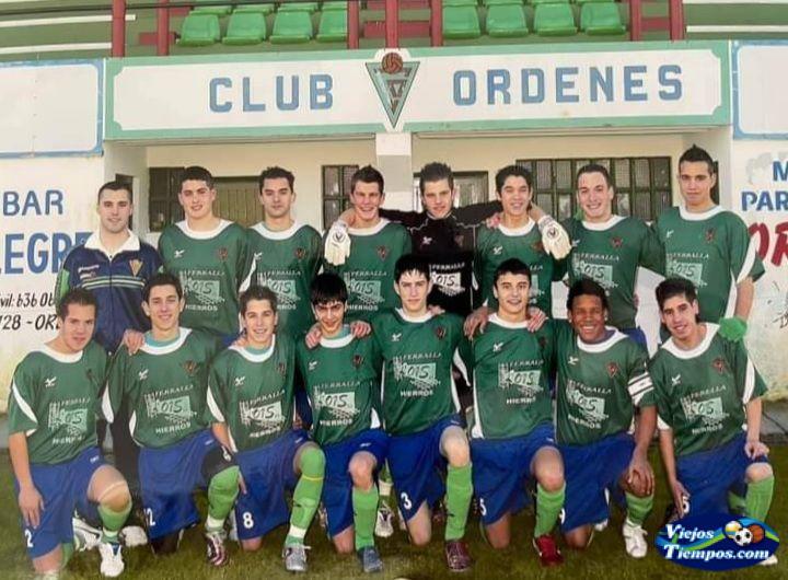 Sociedad Deportiva Club Órdenes. 2007 - 2008