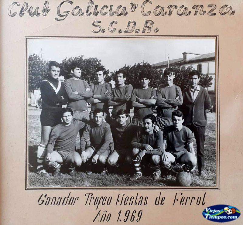 Sociedad Cultural Deportiva Recreativa Galicia de Caranza 1969 - 1970