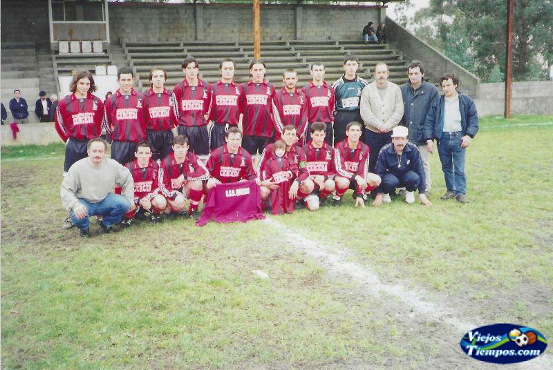 Club Cultural Deportivo Queixas. 2000 - 2001