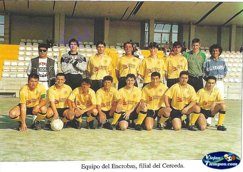 Club de Fútbol Encrobas. 1990 - 1991