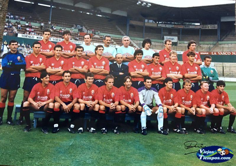Club Atlético Osasuna. 1989 - 1990