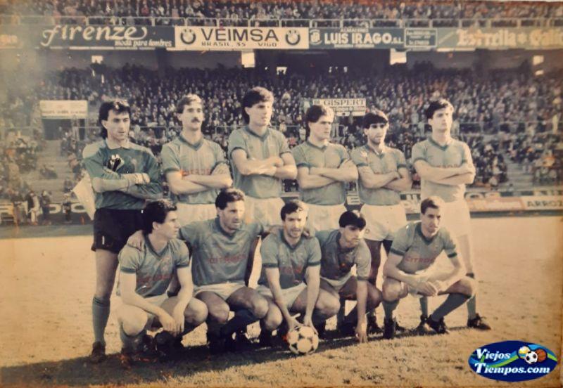 Real Club Celta de Vigo 1985 - 1986