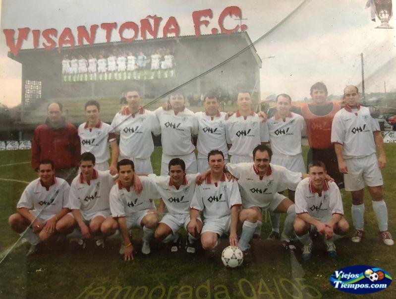 Visantoña Club de Fútbol. 2004 - 2005