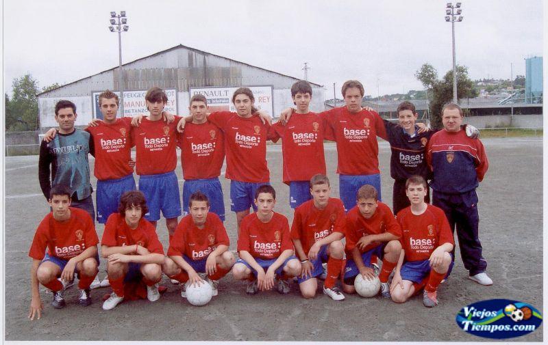Betanzos Club de Fútbol. 2004 - 2005