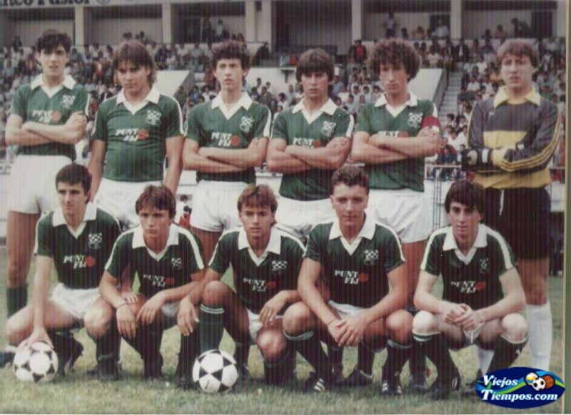 Racing Club de Ferrol - Real Madrid Juveniles 1985 - 1986