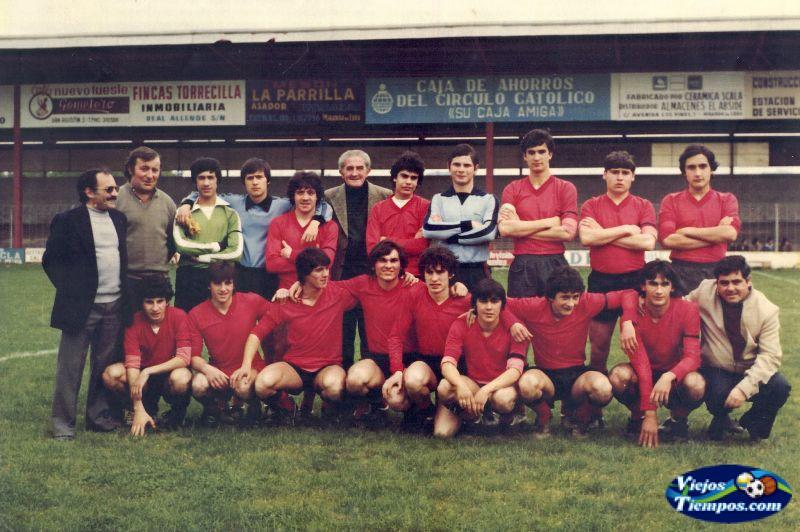 SD Mirandés Juvenil 1981 - 1982