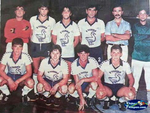 O Parrulo Fútbol Sala 1981 - 1982
