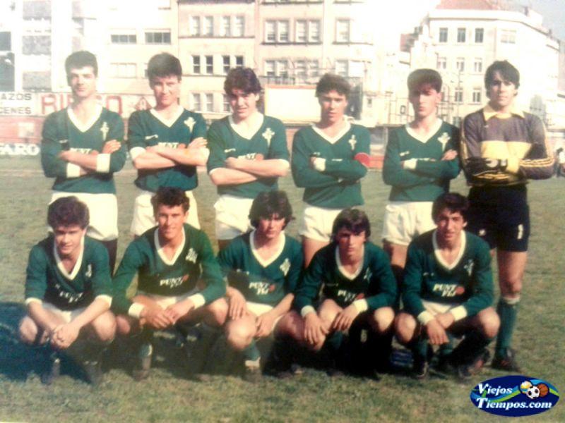 Racing Club de Ferrol Juvenil. 1984 - 1985