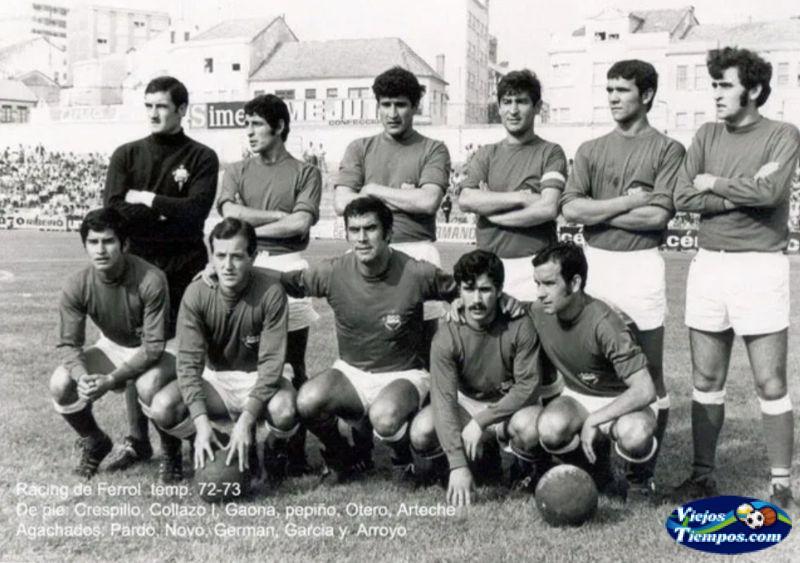 Racing Club de Ferrol. 1972 - 1973