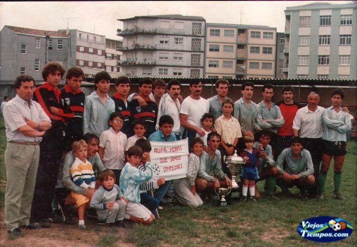 Meirás Club de Fútbol 1986 - 1987